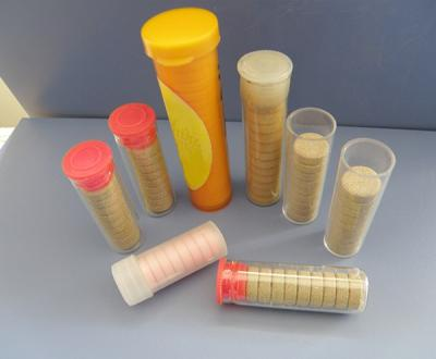 Effervescent Tablets Counting And Filling In Tube