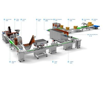 Pharmaceutical Intelligent Packing Line