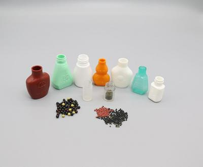 Pills Counting And Filling In Irregular Shaped Bottle