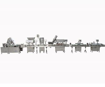 Automatic Tablet/Capsule/Pill Counting And Bottling Line