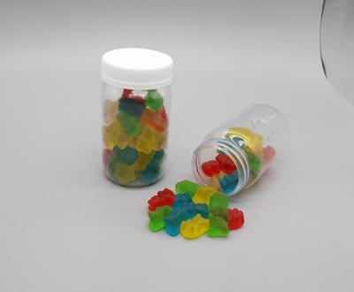 Jelly Candy Counting And Filling In Bottle