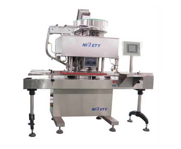 Intelligent And Non-Intelligent Automatic Cap Screwing Machine, The Gap Is So Big!